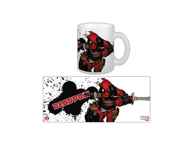 SEMIC DEADPOOL SLASHING MUG TAZZA