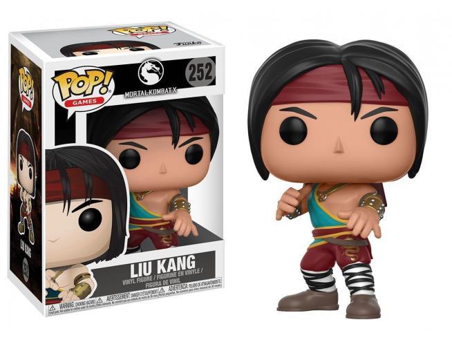 Funko Mortal Kombat POP Games Vinile Figura Liu Kang 9 cm