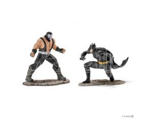 SCHLEICH SCENERY PACK BATMAN VS BANE PVC FIGURE ( FIGURA