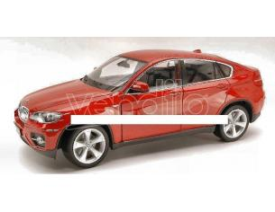 Welly WE2506 BMW X 6 2008 RED 1:18 Modellino