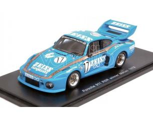 Spark Model S43MC79 PORSCHE 911 RSR N.17 WINNER MACAU GUIA RACE 1979 H.ADAMCZYK 1:43 Modellino