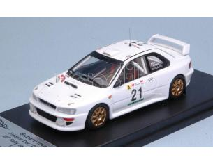 Trofeu TFRRAL60 SUBARU IMPREZA WRC 20th RALLY OF PORTUGAL 1999 DOR-BRETON 1:43 Modellino