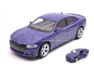 Welly WE24079PRP DODGE CHARGER R/T 2016 PURPLE 1:24-27 Modellino