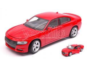 Welly WE24079R DODGE CHARGER R/T 2016 RED 1:24-27 Modellino
