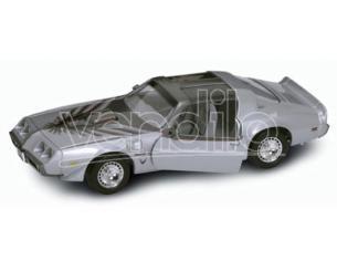 Hot Wheels LDC92378S PONTIAC FIREBIRD TRANS AM 1979 SILVER 1:18 Modellino