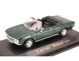 LUCKY DIE CAST LDC94241GR CORVAIR MONZA CONVERTIBLE 1969 GREEN 1:43 Modellino