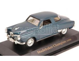 Hot Wheels LDC94249BL STUDEBAKER CHAMPION 1950 BLUE 1:43 Modellino