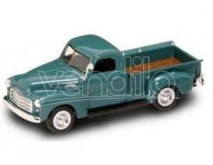Hot Wheels LDC94255BL GMC PICK UP 1950 BLUE 1:43 Modellino