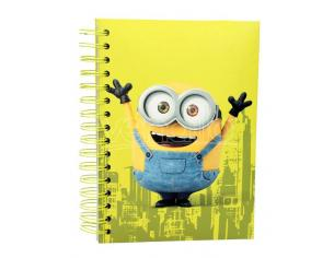SD TOYS MINIONS BOB NOTEBOOK w/LIGHT AND SOUND TACCUINO