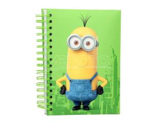 SD TOYS MINIONS KEVIN NOTEBOOK w/LIGHT AND SOUND TACCUINO
