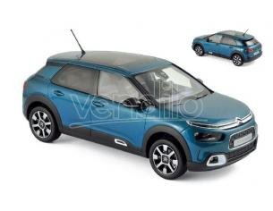 Norev NV181660 CITROEN C4 CACTUS 2018 BLUE & WHITE 1:18 Modellino