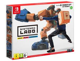NINTENDO LABO ROBOT KIT ATTIVITA' CREATIVE - SWITCH