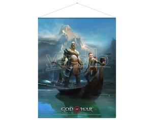 GAYA ENTERTAINMENT GOD OF WAR  FATHER AND SON WALLSCROLL POSTER