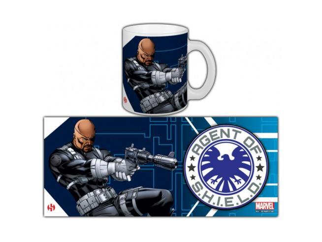 Semic Avengers Nick Fury Tazza