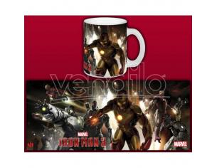 SEMIC IRON MAN 3 HOUSE PARTY MUG TAZZA