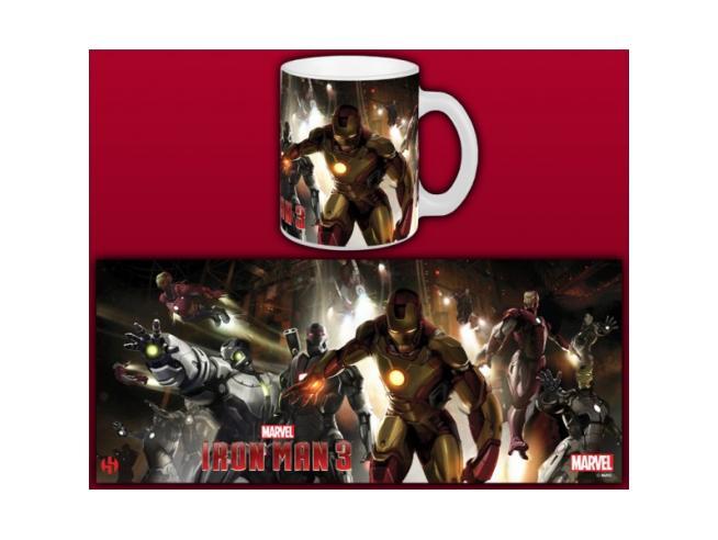 Semic Iron Man 3 House Party Tazza