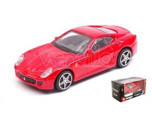 BBURAGO BU31104R FERRARI 599 GTB FIORANO RED 1:43 Modellino