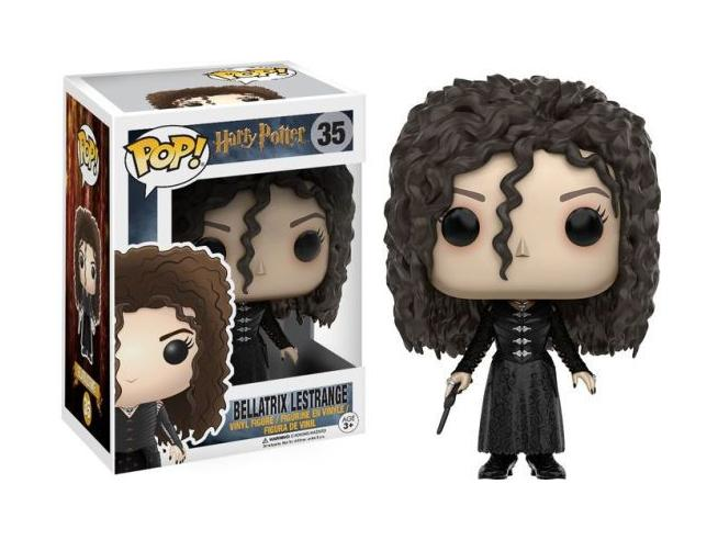Harry Potter Funko Pop Movies Vinile Figura Bellatrix Lestrange 9 Cm