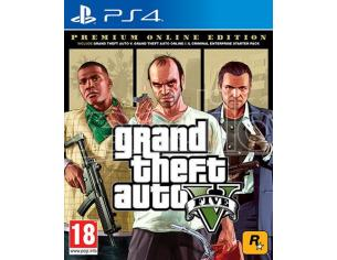 GRAND THEFT AUTO V PREMIUM ONLINE ED. AZIONE - PLAYSTATION 4