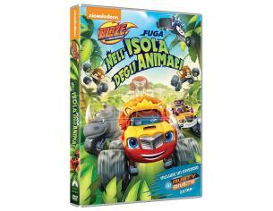 BLAZE E LE MEGAM: FUGA ISOLA ANIMALI ANIMAZIONE - DVD