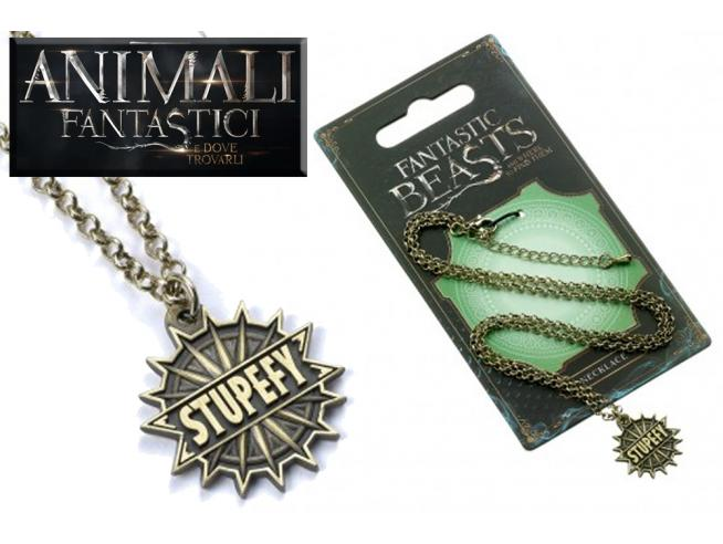 CARAT FANTASTIC BEASTS STUPEFY NECKLACE COLLANA