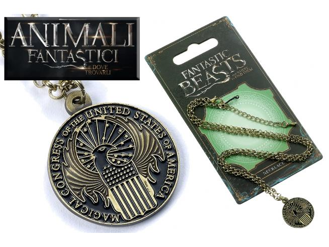 CARAT FANTASTIC BEASTS CONGRESS NECKLACE COLLANA