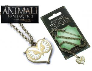 CARAT FANTASTIC BEASTS OWL NECKLACE COLLANA