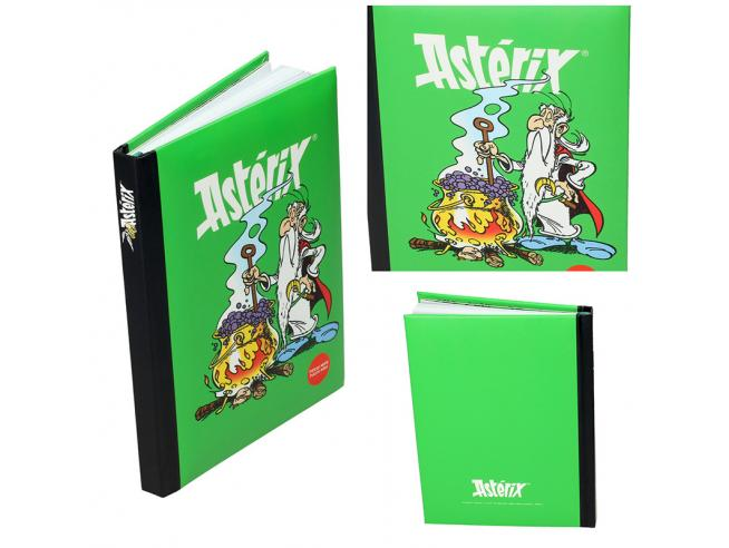 SD TOYS ASTERIX CAULDRON NOTEBOOK W/T LIGHT TACCUINO