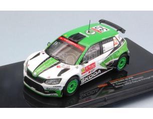 Ixo model RAM657 SKODA FABIA R5 N.32 WINNER WRC2 PORTUGAL 2017 TIDEMAND-ANDERSSON 1:43 Modellino