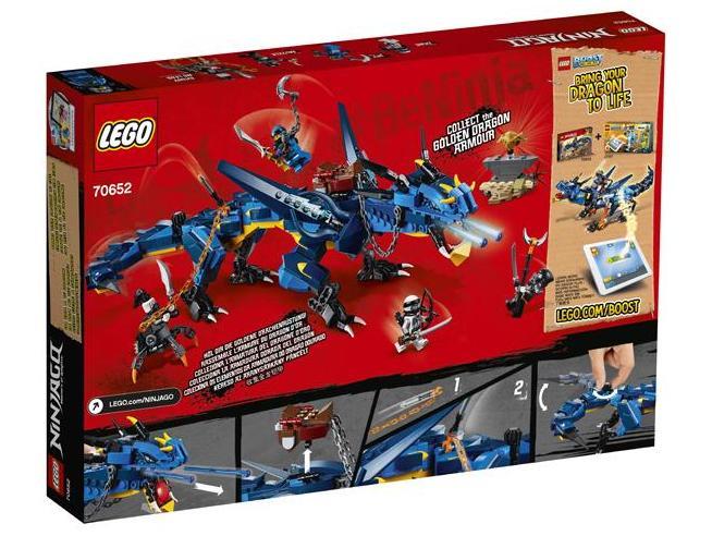 LEGO NINJAGO 70652 -  DRAGONE DELLA TEMPESTA