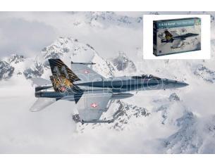 Italeri IT1394 F/A-18 HORNET TIGER MEET 2016 KIT 1:72 Modellino