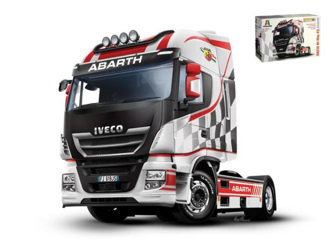 Italeri IT3934 IVECO ES Hi-Way ABARTH KIT 1:24 Modellino