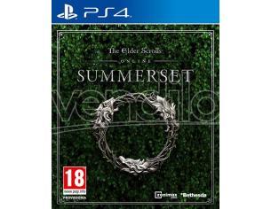 THE ELDER SCROLLS ONLINE - SUMMERSET MMORPG PLAYSTATION 4