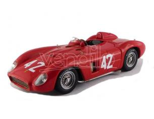 Art Model AM0387 FERRARI 500 TR N.42 8th GP CUBA 1957 M.GREGORY 1:43 Modellino