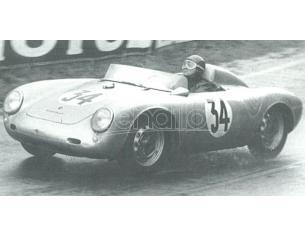 Best Model BT9708 PORSCHE 550 RS N.34 10th LM 1958 FRANC (J.DEWES)-J.KERGUEN 1:43 Modellino