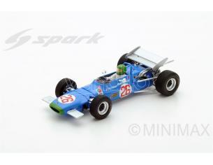 Spark Model S4290 MATRA MS7 H.PESCAROLO 1969 N.26 WINNER GERMAN GP F2 1:43 Modellino