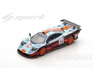 Spark Model S5082 MC LAREN F1 GTR N.39 DNF LM 1997 R.BELLM-A.GILBERT SCOTT-M.SEKIYA 1:43 Modellino
