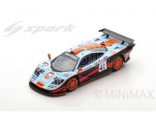 Spark Model S5083 MC LAREN F1 GTR N.41 2nd LM 1997 A.OLOFSSON-P.H.RAPHANEL-J.M.GOUNON 1:43 Modellino