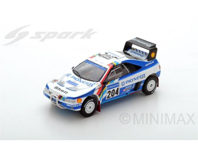 Spark Model S5616 PEUGEOT 405 T16 N.204 WINNER PARIS DAKAR 1989 A.VATANEN-B.BERGLUND 1:43 Modellino