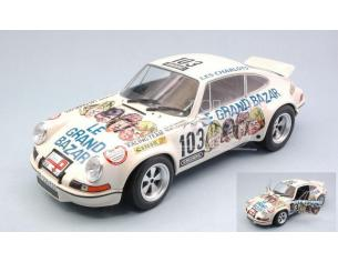 Solido SL1801106 PORSCHE 911 RSR LE GRAND BAZAR TOUR DE FRANCE AUTO 1973 1:18 Modellino