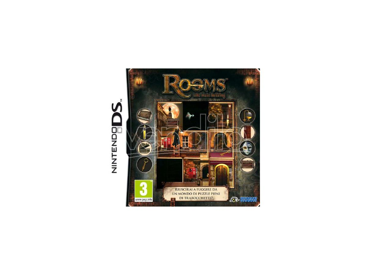 ROOMS: THE MAIN BUILDING ROMPICAPO - NINTENDO DS