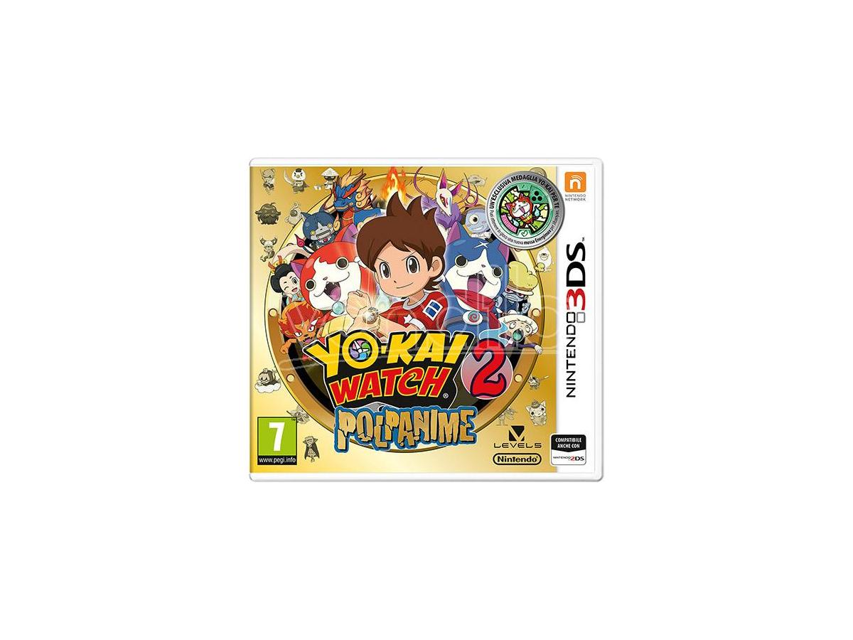 YO-KAI WATCH 2: POLPANIME DAY ONE ED. GIOCO DI RUOLO (RPG) - NINTENDO 3DS