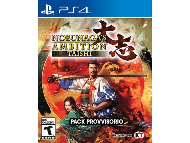 NOBUNAGA'S AMBITION: TAISHI AZIONE - PLAYSTATION 4