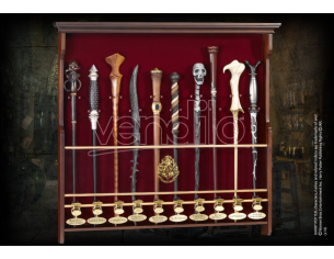 Portabacchette in legno a 10 posti - Harry Potter Noble Collection