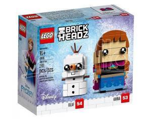 LEGO BRICK HEADZ 41618 - FROZEN: ANNA E OLAF