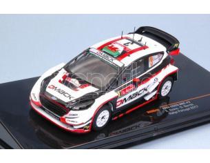 Ixo model RAM643 FORD FIESTA WRC N.3 6th RALLY PORTUGAL 2017 EVANS-BARRITT 1:43 Modellino