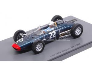 Spark Model S5330 LOLA MK4 L.BIANCHI 1963 N.22 ACCIDENT BELGIUM GP 1:43 Modellino