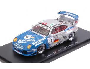 Spark Model S5514 PORSCHE 911 GT2 N.74 10th LM 1997 A.AHRLE-B.EICHMANN-A.PILGRIM 1:43 Modellino
