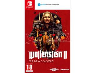 WOLFENSTEIN 2: THE NEW COLOSSUS SPARATUTTO - NINTENDO SWITCH