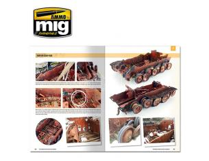 AMMO BY MIG JIMENEZ MODELLING GUIDE FOR RUST AND OXYD -ENG- LIBRO
